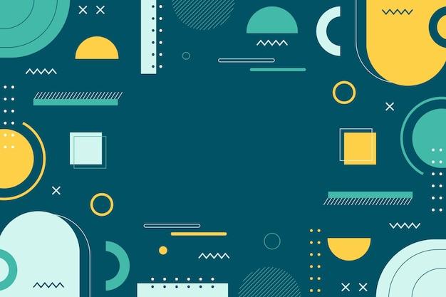 Design piatto di sfondo astratto