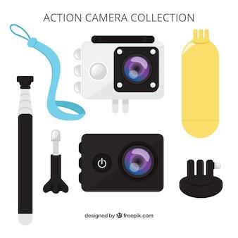 Плоская проекция камеры действия