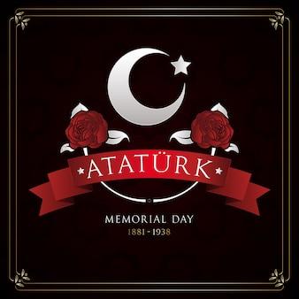 평면 디자인 아타튀르크 기념일