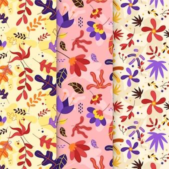평면 디자인 가을 장식 패턴
