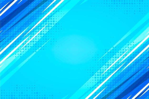 Flat design bright comics background