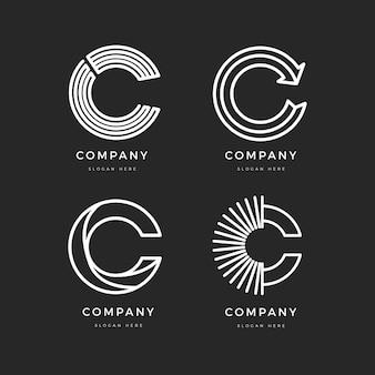 Плоский дизайн c логотипом коллекции