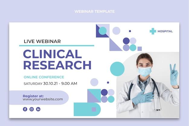 Webinar di ricerca clinica sul design piatto