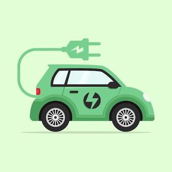 전기 자동차의 평면 설계 개념