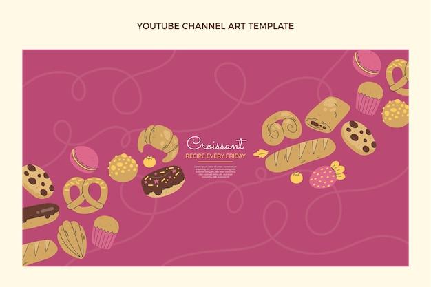 フラットデザインクロワッサンレシピyoutubeチャンネル
