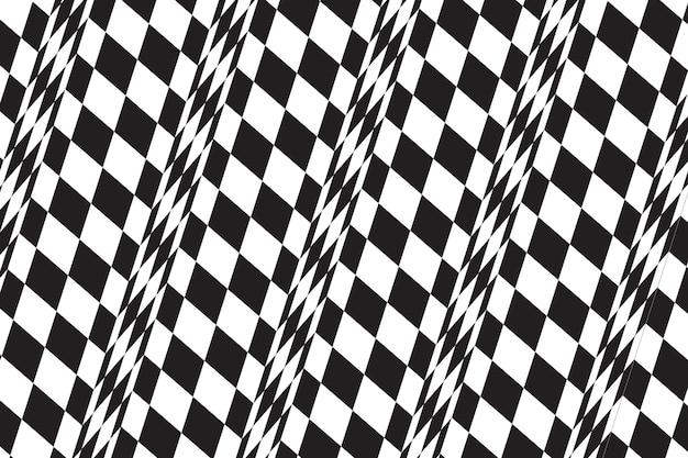 Flat design distorted background