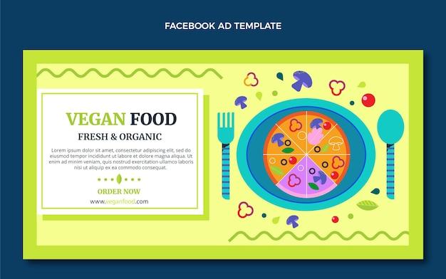 Плоский дизайн facebook реклама