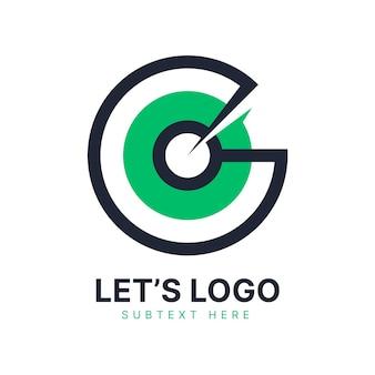 Design piatto vai modello di logo
