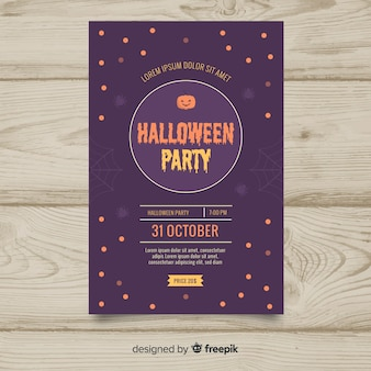 Halloween Flyer Vectors, Photos and PSD files | Free Download