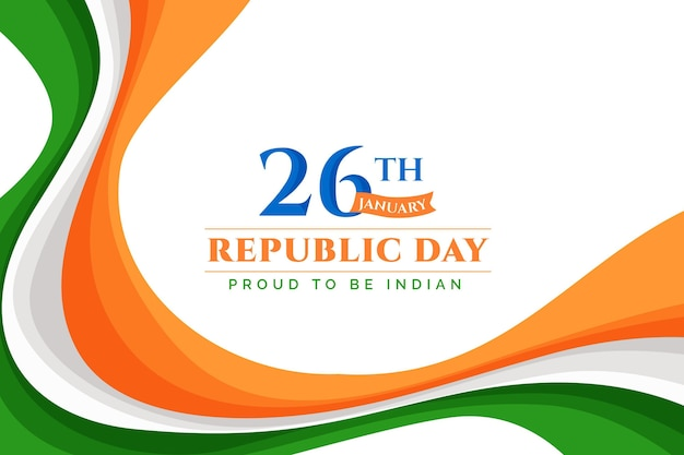 フラットデザインインド共和国記念日