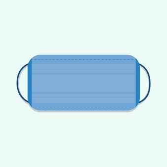 Flat design medical mask concept
