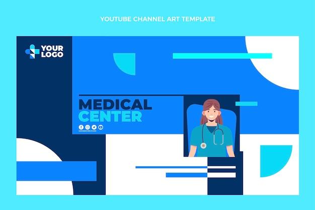 フラットデザイン医療youtubeチャンネル