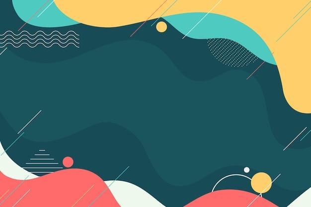 Плоский дизайн абстрактный фон