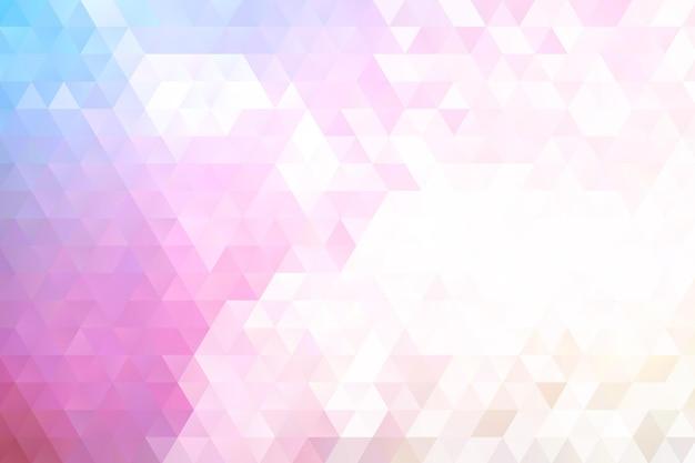 Плоский дизайн многоугольного фона