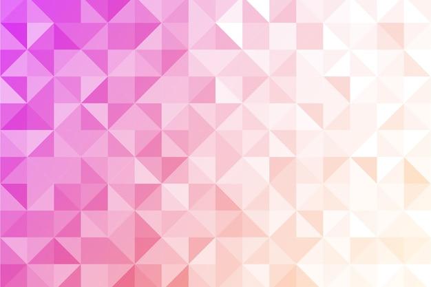 Плоский дизайн многоугольного фона Бесплатные векторы