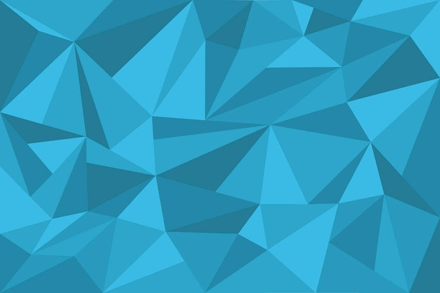Flat design polygonal background