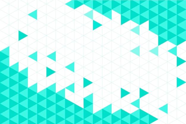 평면 디자인 다각형 배경