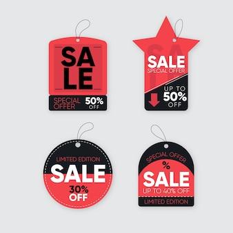 평면 디자인 판매 태그 컬렉션