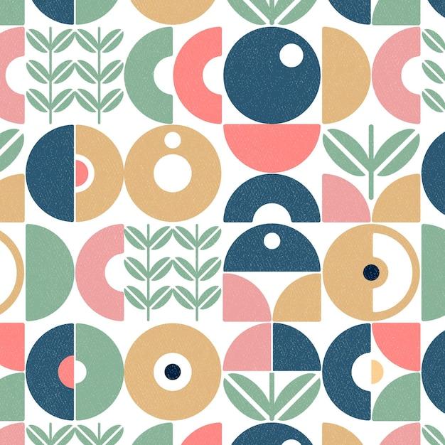 Flat design scandinavian design pattern