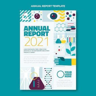평면 디자인 과학 연례 보고서