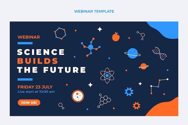 Flat design science webinar