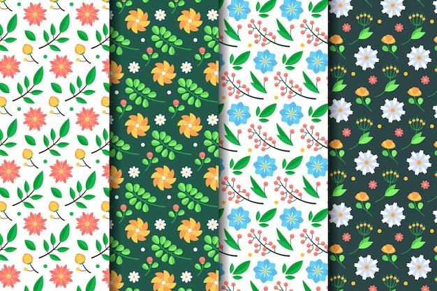 Collezione modello primavera design piatto