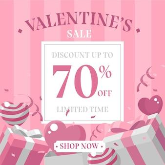 평면 디자인 발렌타인 데이 판매