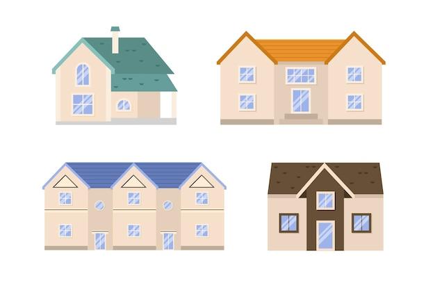 Collezione flat desin house