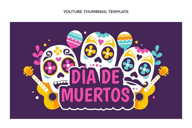 Flat dia de muertos миниатюра youtube