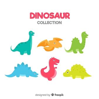 플랫 공룡 컬렉션