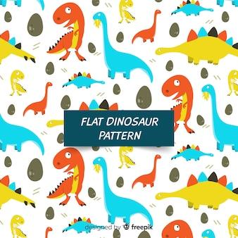 플랫 공룡 패턴