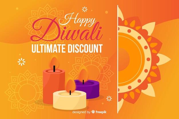 Flat diwali sale with discount