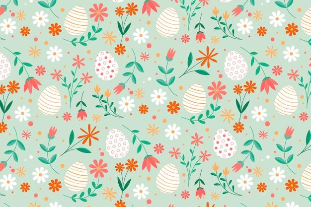 Flat easter pattern