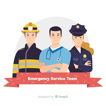 Flat emergency team design