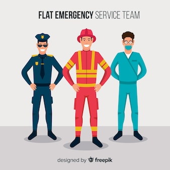 Flat emergency team