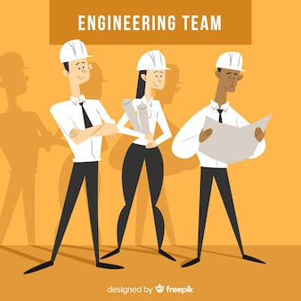 플랫 엔지니어링 팀 배경