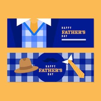 Набор баннеров плоский \ день отца
