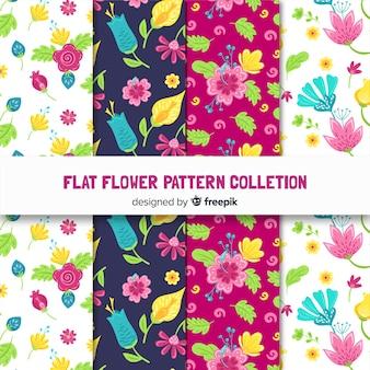 플랫 플라워 패턴 컬렉션