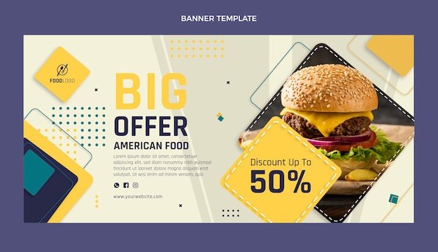 플랫 식품 판매 배경