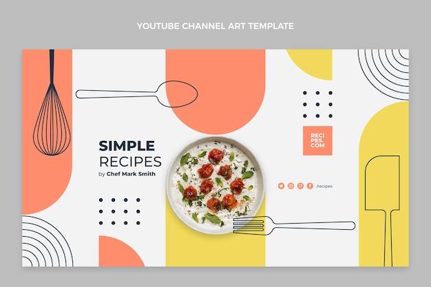 Canale youtube cibo piatto