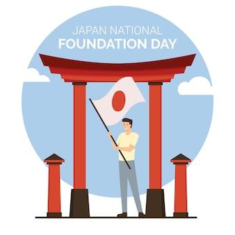 Flat foundation day japan