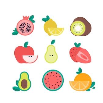 フラットフルーツコレクション