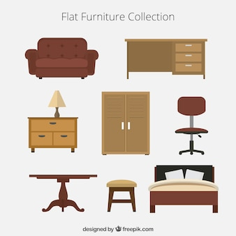 Flat furniture collection