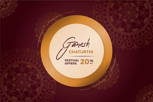 Flat ganesh chaturthi sales