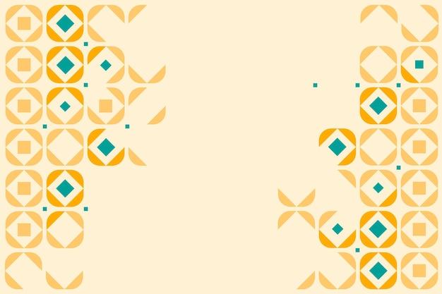 Flat geometric background