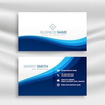 Flat geometric business card