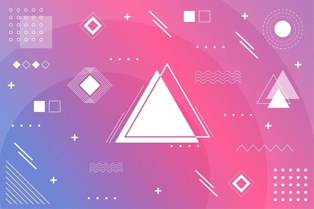 Flat geometric models background