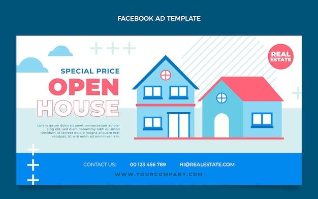 Flat geometric real estate facebook