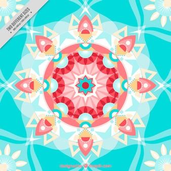 Piatto forme geometriche sfondo