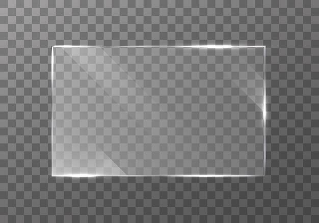 Плоская стеклянная пластина